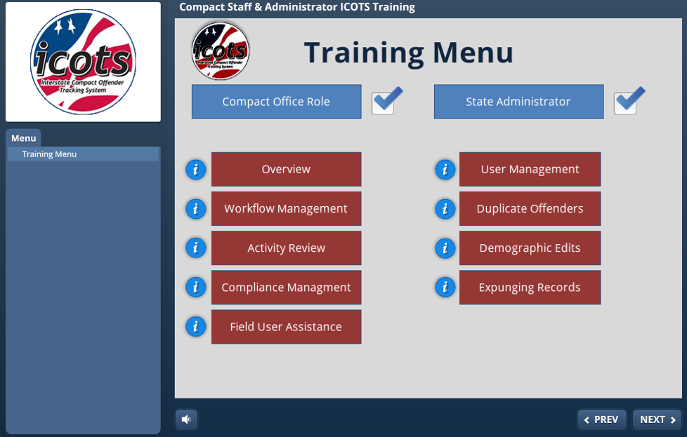 Icots Compact Staff State Administrator Ondemand Training Icaos